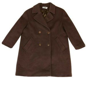 Bromley Vintage Women's Wool Trench Coat Jacket M